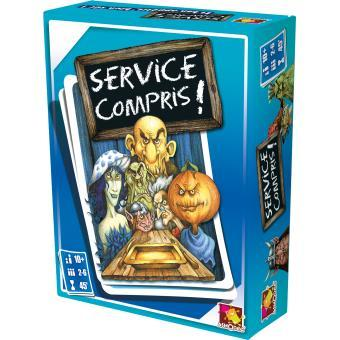 Service compris asmodee nouvelle edition